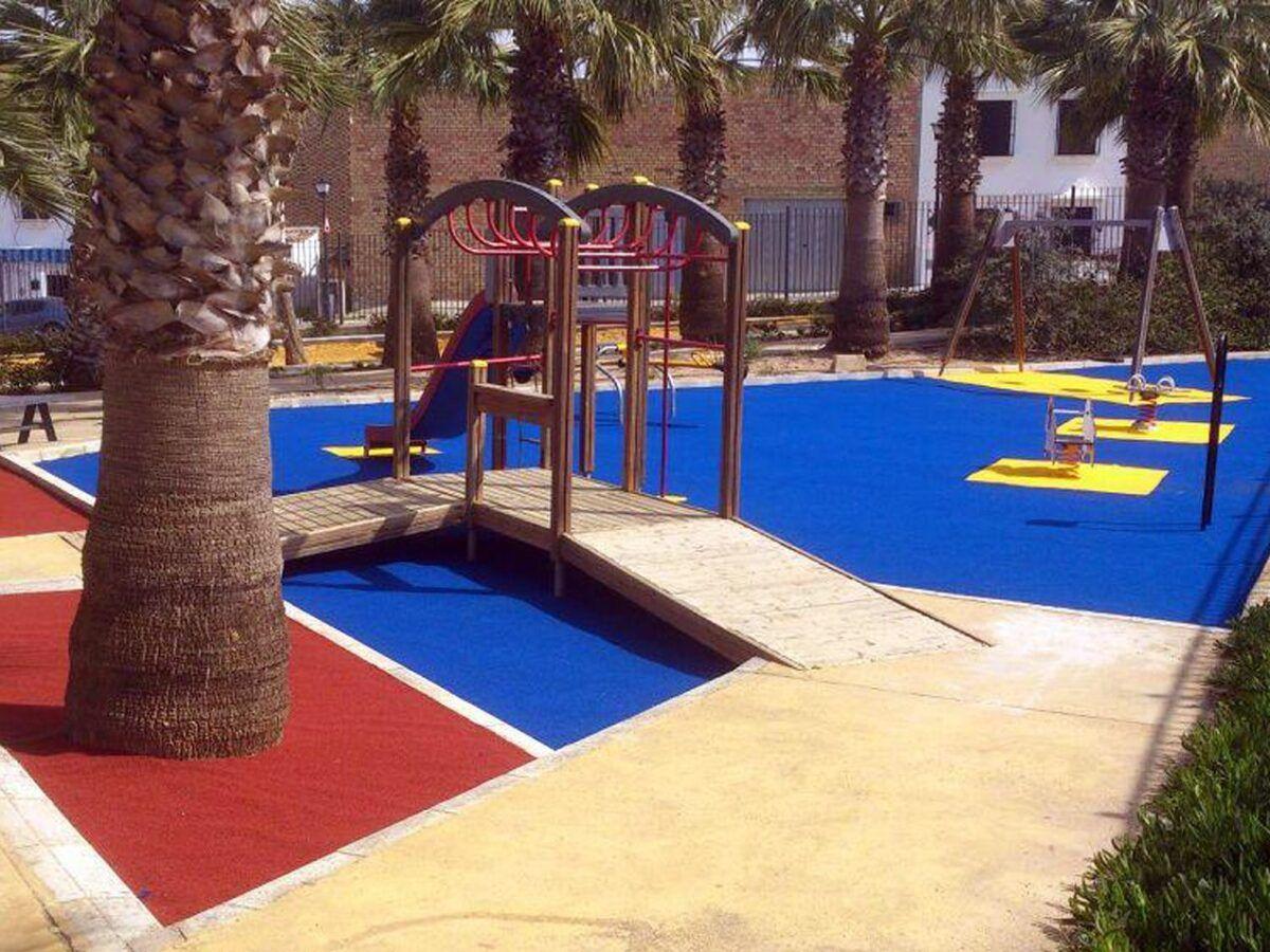 Cesped artificial Parque Colores