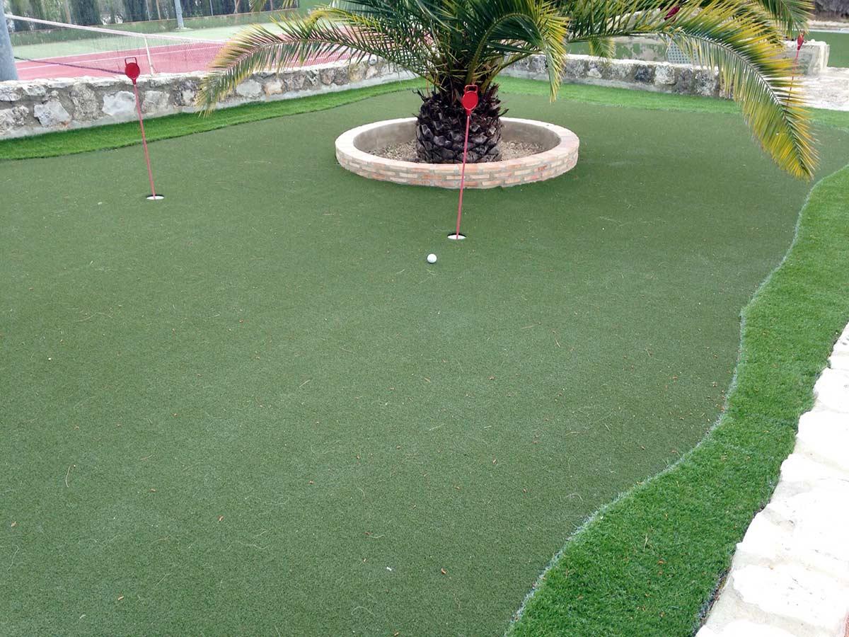 cesped mini golf - Galería Cesped Artificial