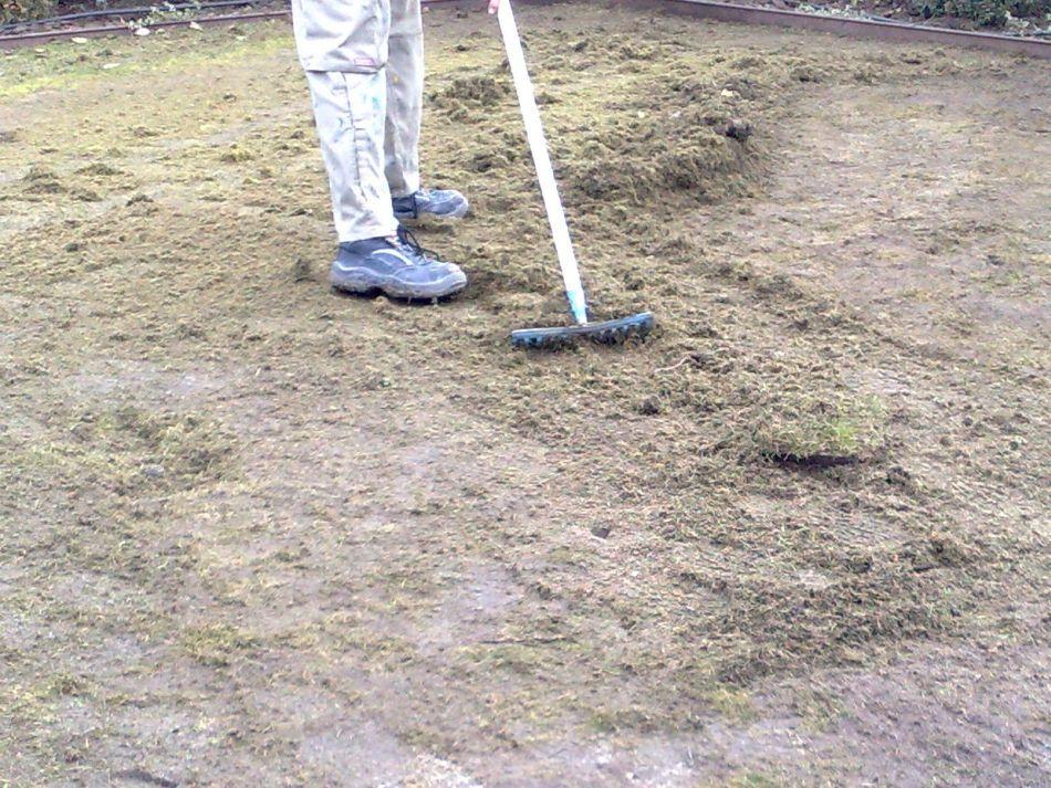 Limpieza de superficie para Instalar Cesped Artificial en Tierra o Hierba