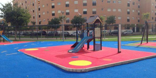 cesped artificial parque infantil 3 600x300 - Donde comprar césped artificial